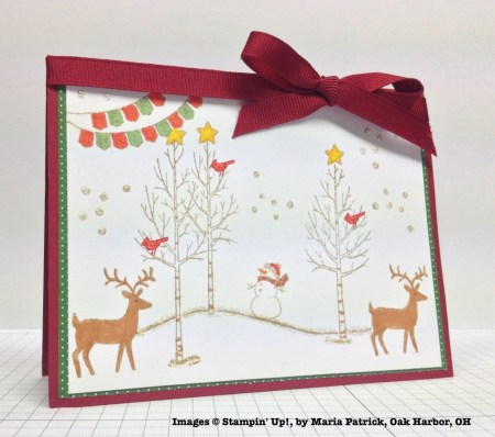 Holiday One-for-One Swaps, Stampin' Up!, by Maria Patrick