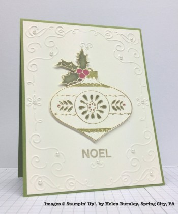 Holiday One-for-One Swaps, Stampin' Up!, by Helen Burnley