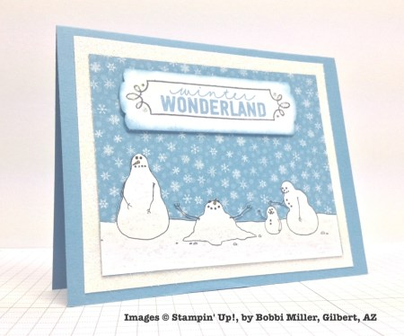 Holiday One-for-One Swap, Stampin' Up!, by Bobbi Miller