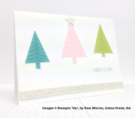 Holiday One-for-One Swap, Stampin' Up!, by Pam Morris