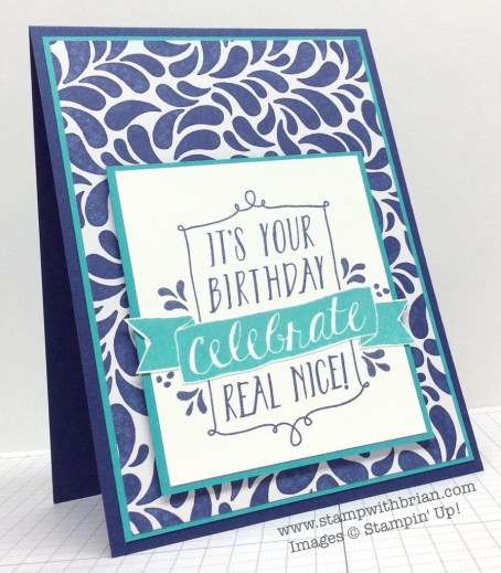 Balloon Bash, Stampin' Up!, Brian King