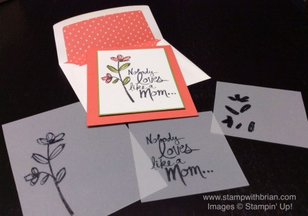 Mother's Love, Stampin' Up!, Brian King