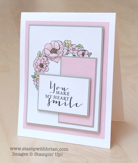 Timeless Love, Stampin' Up!, Brian King, FMS189