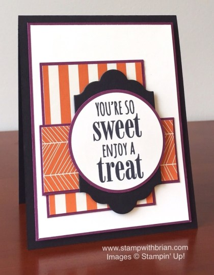 You're So Sweet, Happy Haunting Designer Series Paper, Stampin' Up!, Brian King, FMS201