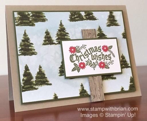 Cozy Christmas, Season of Cheer Designer Series Paper, Stampin' Up!, Brian King, PPA277