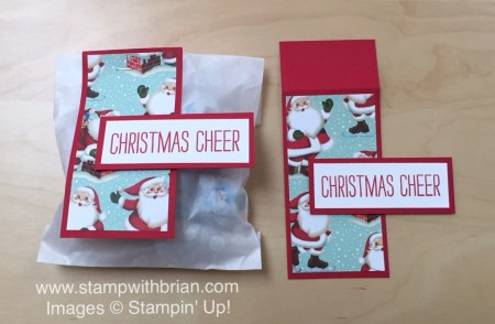 Cheer All Year, Home for Christmas Designer Series Paper, Bow Builder punch, Stampin' Up!, Brian King, Christmas gift-giving ideas