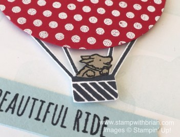 Beautiful Ride, Celebrate Today, Dots for Days, Stampin' Up!, Brian King, GDP023