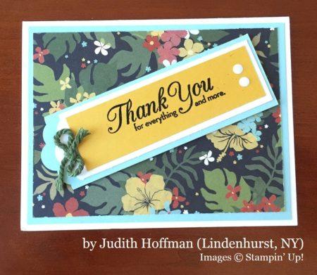 Judith Hoffman, Lindenhurst NY, Stampin' Up!, card swap