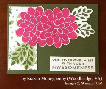 Kiazan Moneypenny, Woodbridge VA, Stampin' Up!, card swap