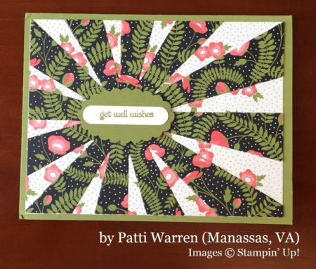 Patti Warren, Manassas VA, Stampin' Up!, card swap