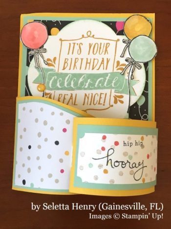 Seletta Henry, Gainesville FL, Stampin' Up!, card swap