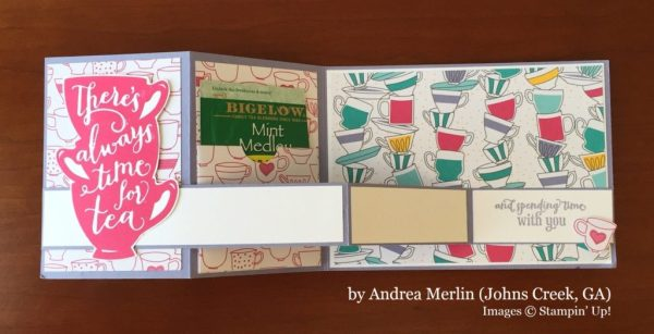 Andrea Merlin, Johns Creek GA, Stampin' Up!, card swap