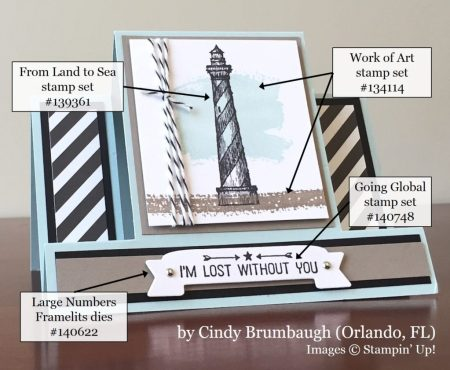 Cindy Brumbaugh, FL, Stampin' Up!, card swap