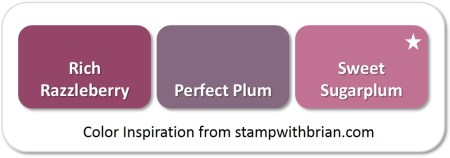 Sweet Sugarplum - compared to Rich Razzleberry and Perfect Plum