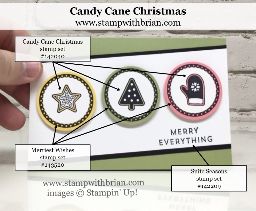 SNEAK PEEK Candy Cane Christmas For GDP049 STAMP WITH BRIAN