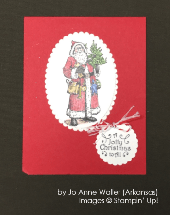 by Jo Anne Waller, Stampin' Up!, Holiday One-for-One Swap