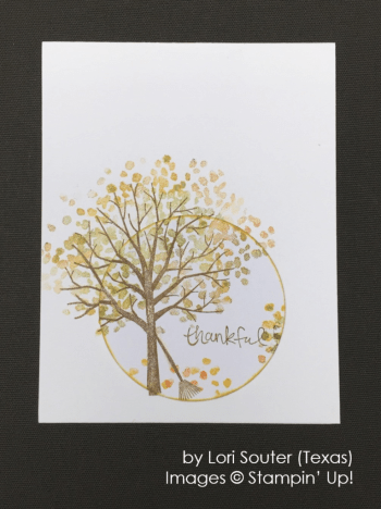 by Lori Souter, Stampin' Up!, Holiday One-for-One Swap