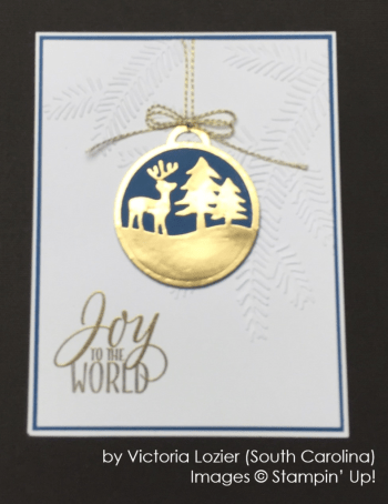 by Victoria Lozier, Stampin' Up!, Holiday One-for-One Swap