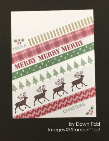 by Dawn Tidd, Stampin' Up!, Christmas cards