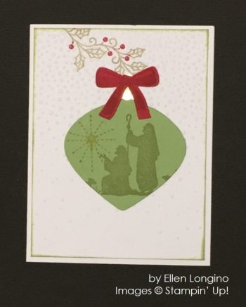 by Ellen Longino, Stampin' Up!, Christmas cards