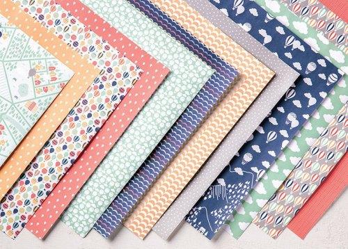Carried Away Designer Series Paper, Stampin' Up!