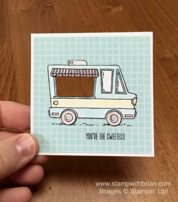 Tasty Trucks, Stampin' Up!, Brian King