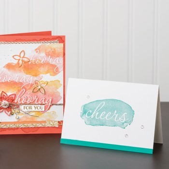 Reverse Words Samples, Stampin' Up!, Brian King