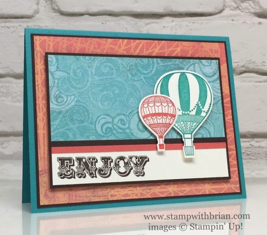 Suite Sentiments, Lift Me Up, Cupcakes & Carousels Designer Series Paper Stack, Stampin' Up!, Brian King