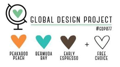 Stampin' Up! Color Inspiration: Peekaboo Peach, Bermuda Bay, Early Espresso