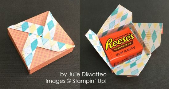 by Julie DiMatteo, Stampin' Up! swap