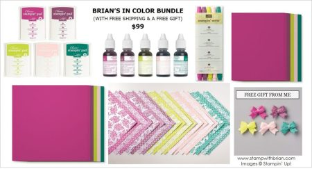 Brian's 2017-2019 In Color Bundle, Stampin' Up!