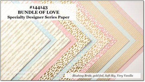 Bundle of Love Specialty Designer Series Paper, Stampin' Up!