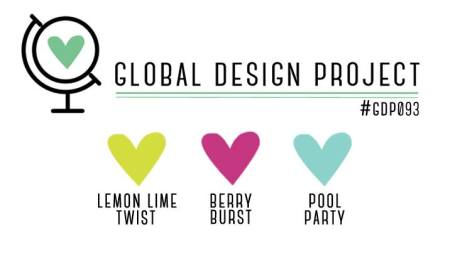 Stampin' Up! Color Inspiration: Lemon Lime Twist, Berry Burst, Pool Party