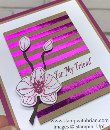 Climbing Orchid, Special Celebrations, Seasonal Layers Thinlits Dies, Stampin' Up!, Brian King, GDP094