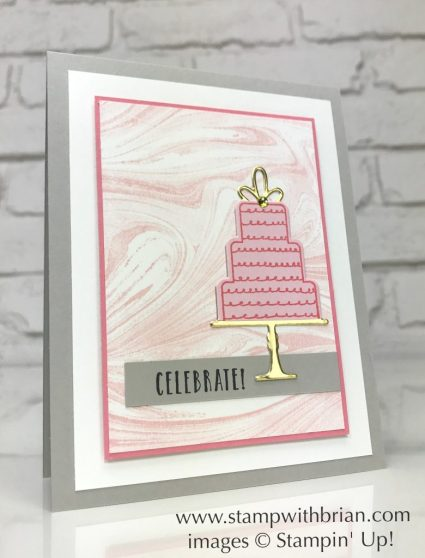 Celebration Time, Marbled, Stampin' Up!, Brian King