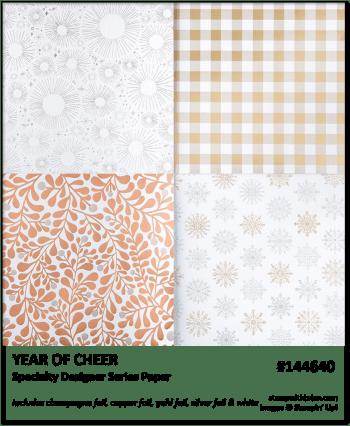 Year of Cheer, Stampin' Up!, Brian King 144640