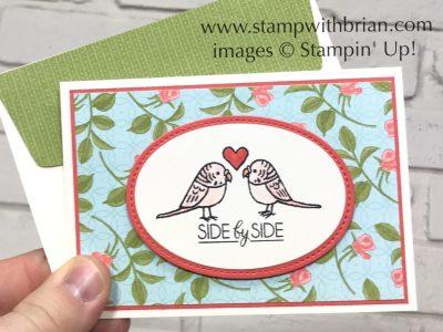 Bird Banter, Beautiful Boquet, Stampin' Up!, Brian King