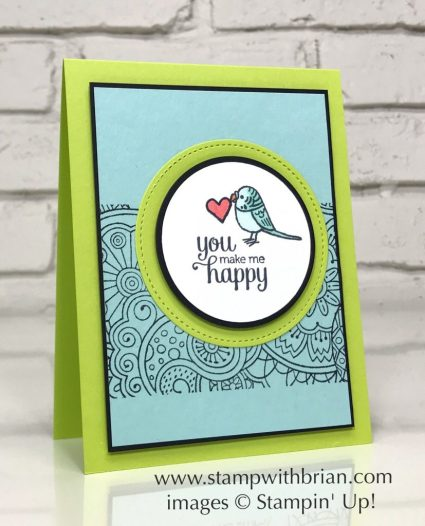Bird Banter, Flirty Flowers, Hello Color, Stampin' Up!, Brian King