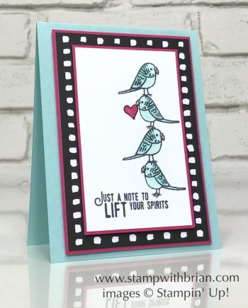 Bird Banter, Lift Me Up, Stampin' Up!, Brian King