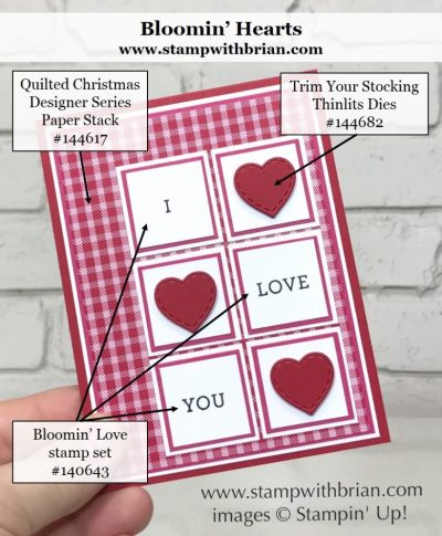 Bloomin' Love, Stampin' Up!, Brian King, GDP 114