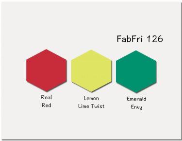 Stampin' Up! Color Inspiration: Real Red, Lemon Lime Twist, Emerald Envy