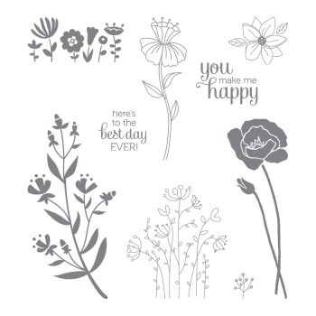 Flirty Flowers, Stampin' Up! 143872
