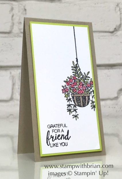 Hanging Garden, Bunch of Blossoms, Stampin' Up!, Brian King, GDP117