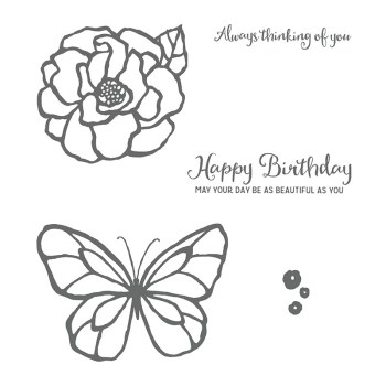 Beautiful Day, Stampin' Up! 145915