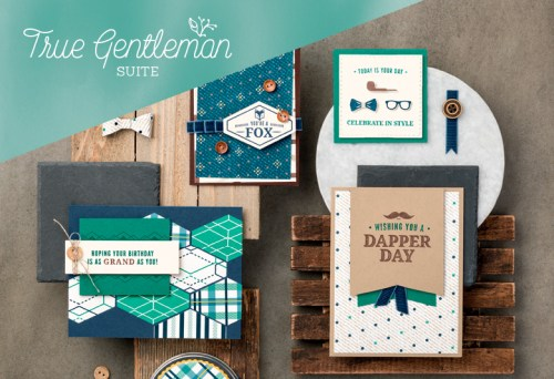 True Gentleman Suite, Stampin' Up!, Brian King 101029