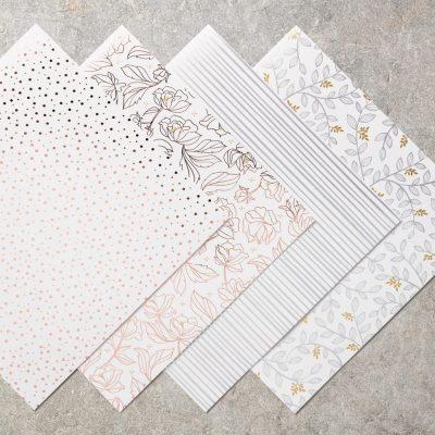 Springtime Foils Specialty Designer Series Paper, Stampin' Up! 147193