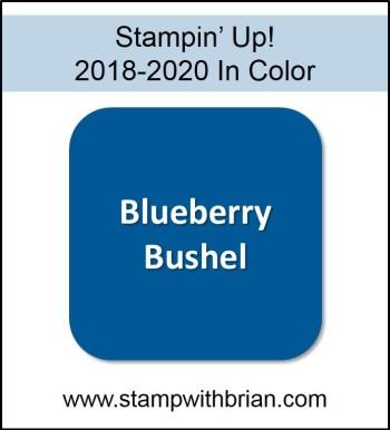 Blueberry Bushel, Stampin' Up! 2018-2020 In Color