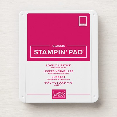 Lovely Lipstick Classic Stampin' Pad, Stampin' Up!, 147140