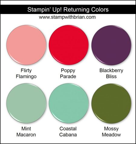 Stampin' Up! Returning Colors