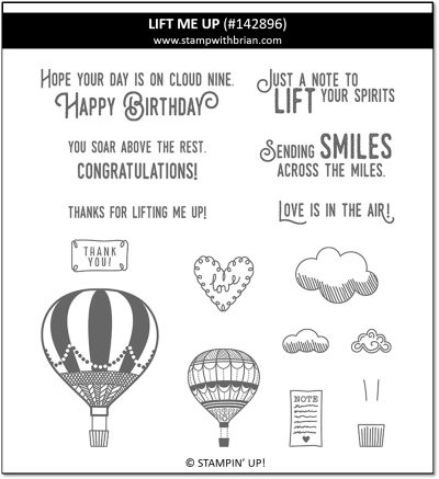 Lift Me Up, Stampin' Up!, 142896